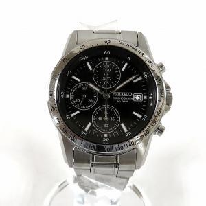 セイコー クロノグラフ 7T92-0DW0 クォーツ 時計 腕時計 メンズ 【中古】【あすつく】|wonderprice