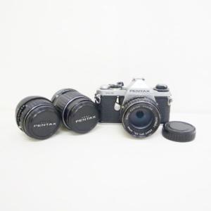ペンタックス PENTAX ME ASAHI フィルムカメラ カメラ レンズセット ユニセックス 小物 【中古】【あすつく】