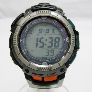 カシオ プロトレック 電波ソーラー デジタル腕時計 時計 腕時計 メンズ 【中古】【あすつく】