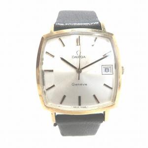 オメガ ジュネーブ 手巻き 時計 腕時計 メンズ 【中古】【あすつく】|wonderprice
