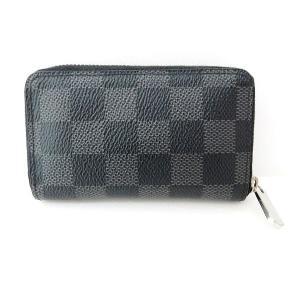 ルイヴィトン Louis Vuitton ダミエ グラフィット ジッピーコインパース N63076 ...