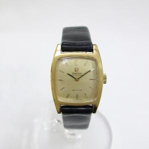 時計 オメガ デビル レディース 自動巻き ゴールド文字盤 ...