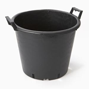 黒色ナーセリーポット 直径40cm|wonderpurants