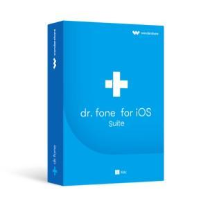 Dr.Fone for iOS suite(Mac版) Wondershare Mac データ復元ソフト iPhone iPad データ復元 連絡先 電話帳 回復 iPhone 7/7 Plusに対応 ワンダーシェアー wondershare