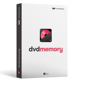 簡単かつ強力なDVDツールボックス Wondershare DVD Memory(Mac版) 永久ライセンス  DVD作成 スライドショー作成 動画編集ソフト|ワンダーシェアー