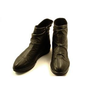 [送料無料] 日本製 Dici(ディッシィ) とっても軽いショートブーツ 58040 クロスムース wondershoes