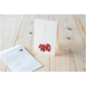 厚手の二つ折りカードと、ぽち袋サイズのタテ型封筒のセットです。  贈りものへひとこと添えるときや、結...