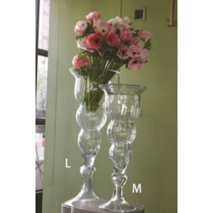 花瓶 花びん ガラス フラワーベース おしゃれ 花器 L