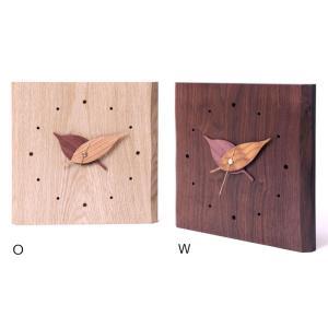 木製 時計 木の葉時計 ドリーミィーパーソン 旭川クラフト|wood-l