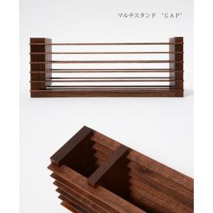 ペンスタンド 木製 (マルチスタンド GAP(ギャップ) ) ドリィーミーパーソン 旭川クラフト wood-l