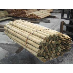 杉・桧ACQ防腐注入杭丸太1500・45 5本1セット(造園用・間伐材) |wood