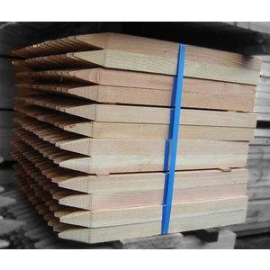 測量杭600   10本1セット|wood