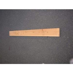 杉足場板 1枚(片面波釘入り) |wood
