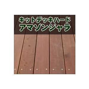 ウッドデッキ Kitdeck アマゾンジャラ1680×1200mm|wood