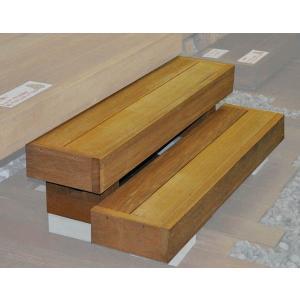 ウッドデッキ用 ウリン2段ステップ|wood