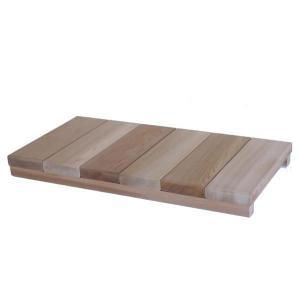 玄関用ステップロング 【日本製】木製玄関靴脱ぎ台|wood