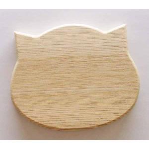 ねこちゃんコースター【日本製】|wood