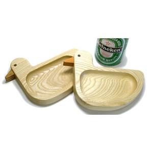 あひる皿 小【日本製】|wood