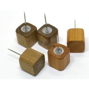 木のピン 大【日本製】木製文具 木の押しピン|wood