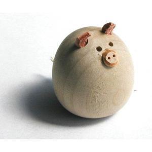 ミニ田舎のヒーロー ぶた【日本製】 |wood