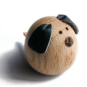 ミニ田舎のヒーロー いぬ【日本製】|wood