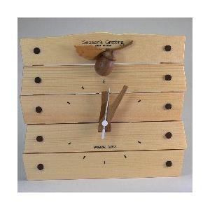 どんぐり時計【日本製】 |wood