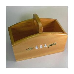 アヒルバスケット【フィリピン製】|wood