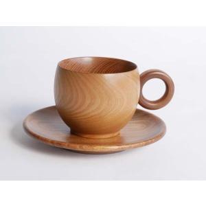 コーヒーカップソーサー【日本製】 |wood