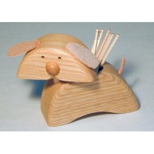 どうぶつ楊枝入れ 【日本製】【木製キッチン用品】 wood