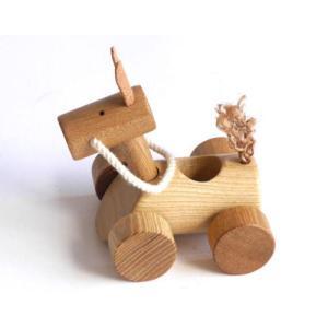お馬のシャチハタ印鑑ケース【日本製】 |wood