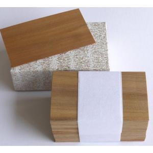 木の名刺カード(台紙) ねずこ【日本製】|wood