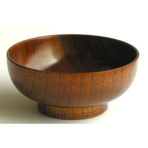すり漆なべ椀   wood