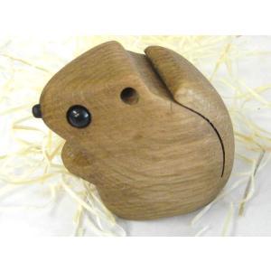 ペーパーウェイト エゾモモンガ【日本製】  wood