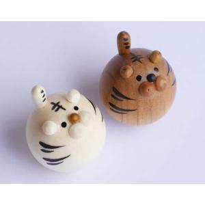 起き上がり トラ (セットではありません) 【日本製】|wood