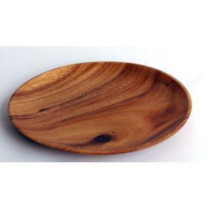 ラウンドプレートM|wood