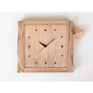 木の葉の時計【日本製】|wood