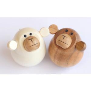 起き上がり さる(新) (セットではありません) 【日本製】|wood