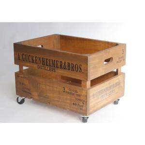 キャスターボックス wood