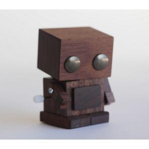 ブリ木ロボ・ウォルナット 【日本製】|wood