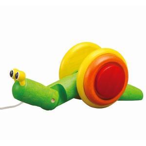 木のおもちゃ プラントイジャパンPLANTOYS 木製知育玩具 スネイル5108|woodayice