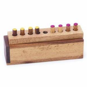 木のおもちゃ 平和工業 木製パズル チェンジングCP-03|woodayice