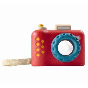 木のおもちゃ プラントイジャパンPLANTOYS 木製知育玩具 マイファーストカメラ5633|woodayice