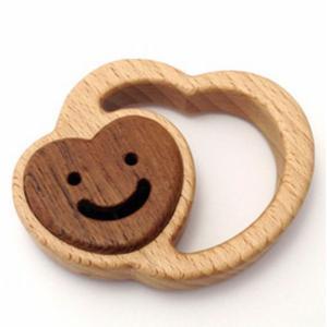 木のおもちゃ ブータレブー 木製ベビートイ こころのラトル|woodayice