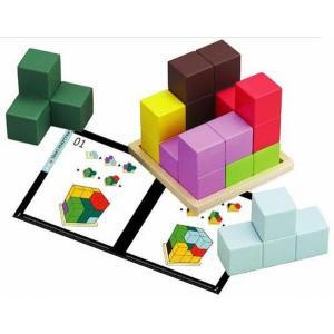 木のおもちゃ エド・インター 木製知育玩具 賢人パズル 802595|woodayice