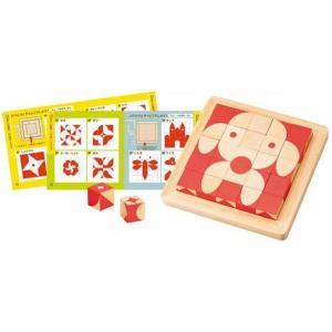 木のおもちゃ エド・インター 木製知育玩具 脳活キューブ807774|woodayice