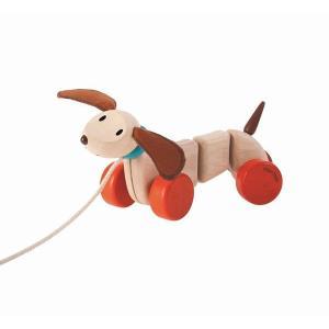 木のおもちゃ プラントイジャパンPLANTOYS 木製知育玩具 ハッピーパピー5101|woodayice
