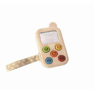 木のおもちゃ プラントイジャパンPLANTOYS 木製知育玩具 マイファーストフォン5674|woodayice