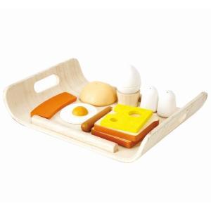 木のおもちゃ プラントイジャパンPLANTOYS 木製おままごと 朝食メニュー3415 woodayice