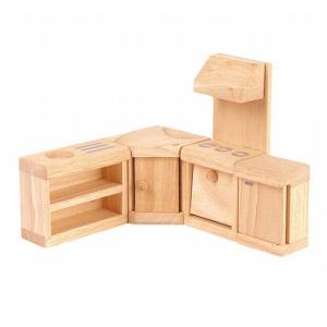 木のおもちゃ プラントイジャパンPLANTOYS 木製おままごと クラシックキッチン9013 woodayice