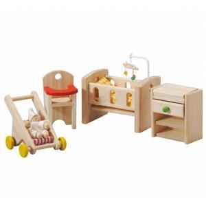 木のおもちゃ プラントイジャパンPLANTOYS 木製おままごと 育児ルーム7329 woodayice